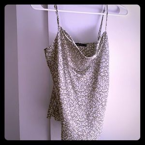 Abercrombie & Fitch cowl neck tank top